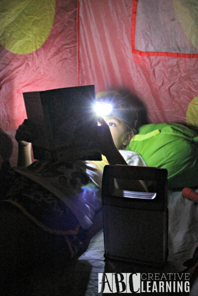 Summer Nighttime Reading Fun With Energizer R