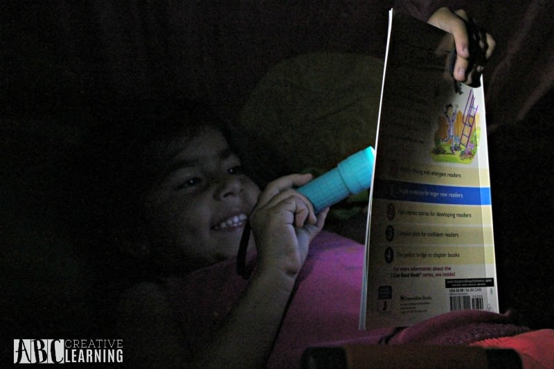 Summer Nighttime Reading Fun With Energizer Reading