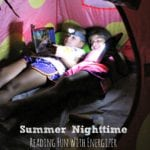 Summer Nighttime Reading Fun With Energizer