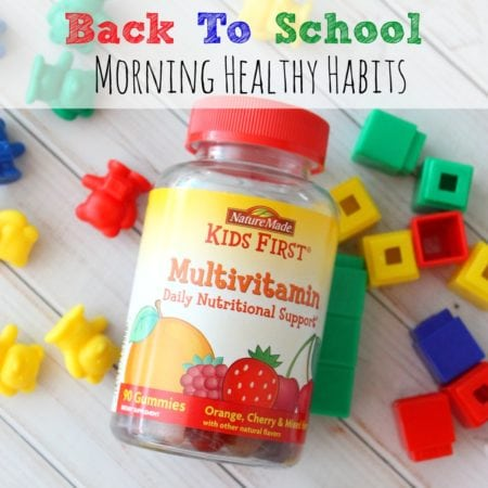 Back To School Morning Healthy Habits