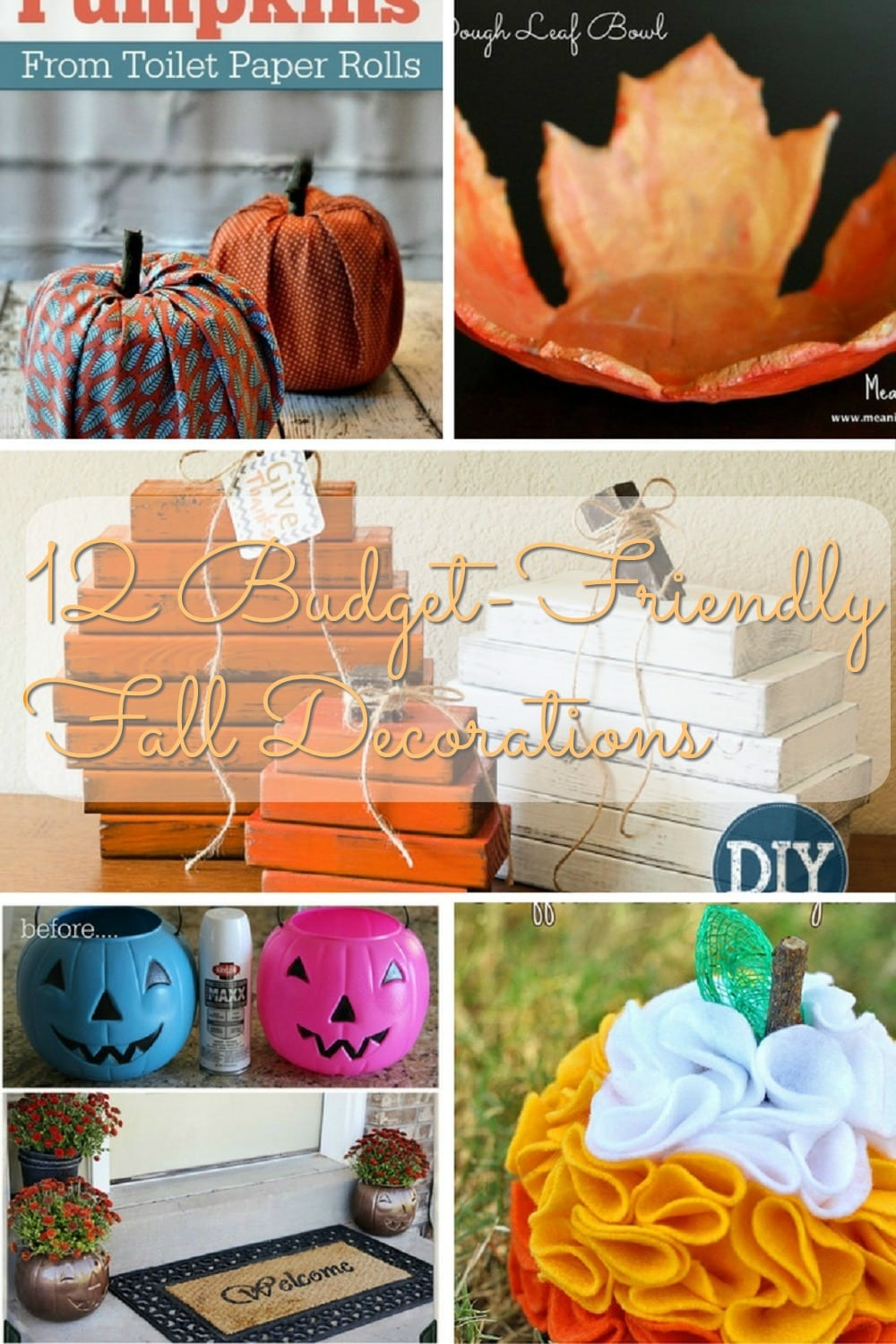 12 Budget Friendly Fall Decorations
