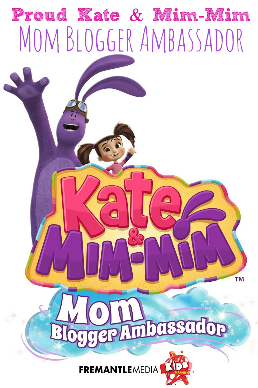 Proud Kate and Mim-Mim Blogger Ambassador