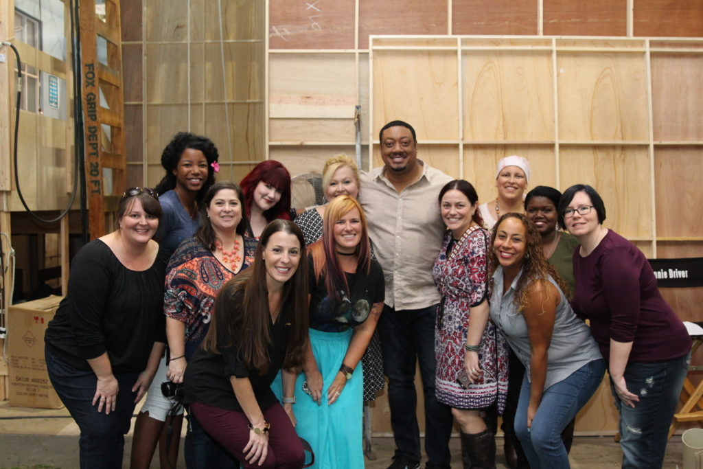 Speechless Set Visit and Cast Interviews #ABCTVEvent Cedric