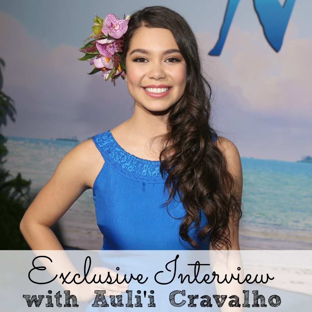 Exclusive Interviews Pictures More: Exclusive Interview With Auli'i Cravalho #MoanaEvent