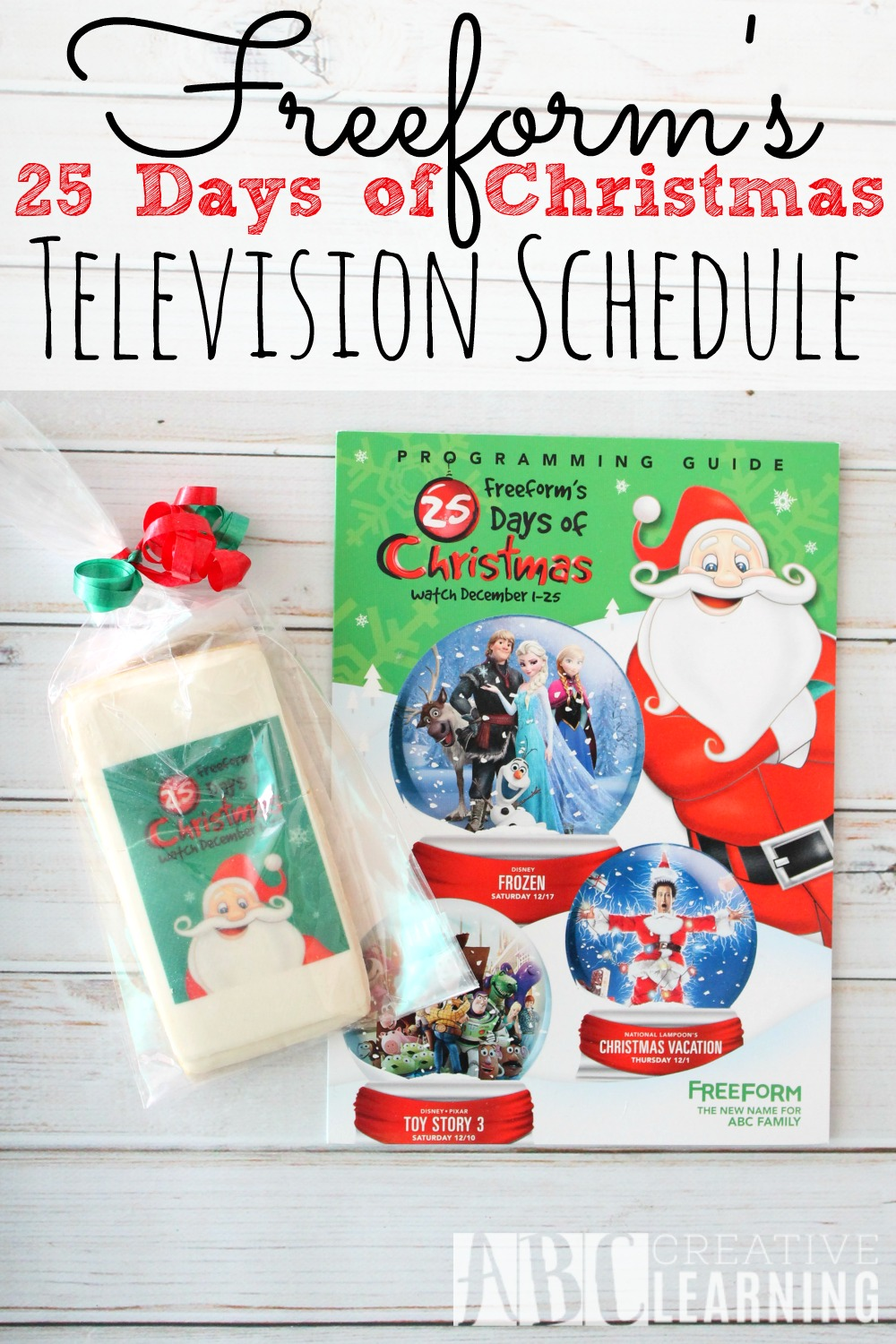Freeform Christmas Schedule.Freeform S 25 Days Of Christmas Schedule 25daysofchristmas