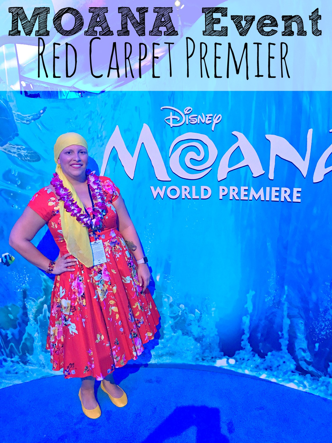 Moana Event Red Carpet Premier