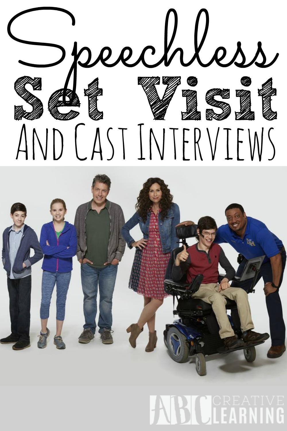Speechless Set Visit and Cast Interviews
