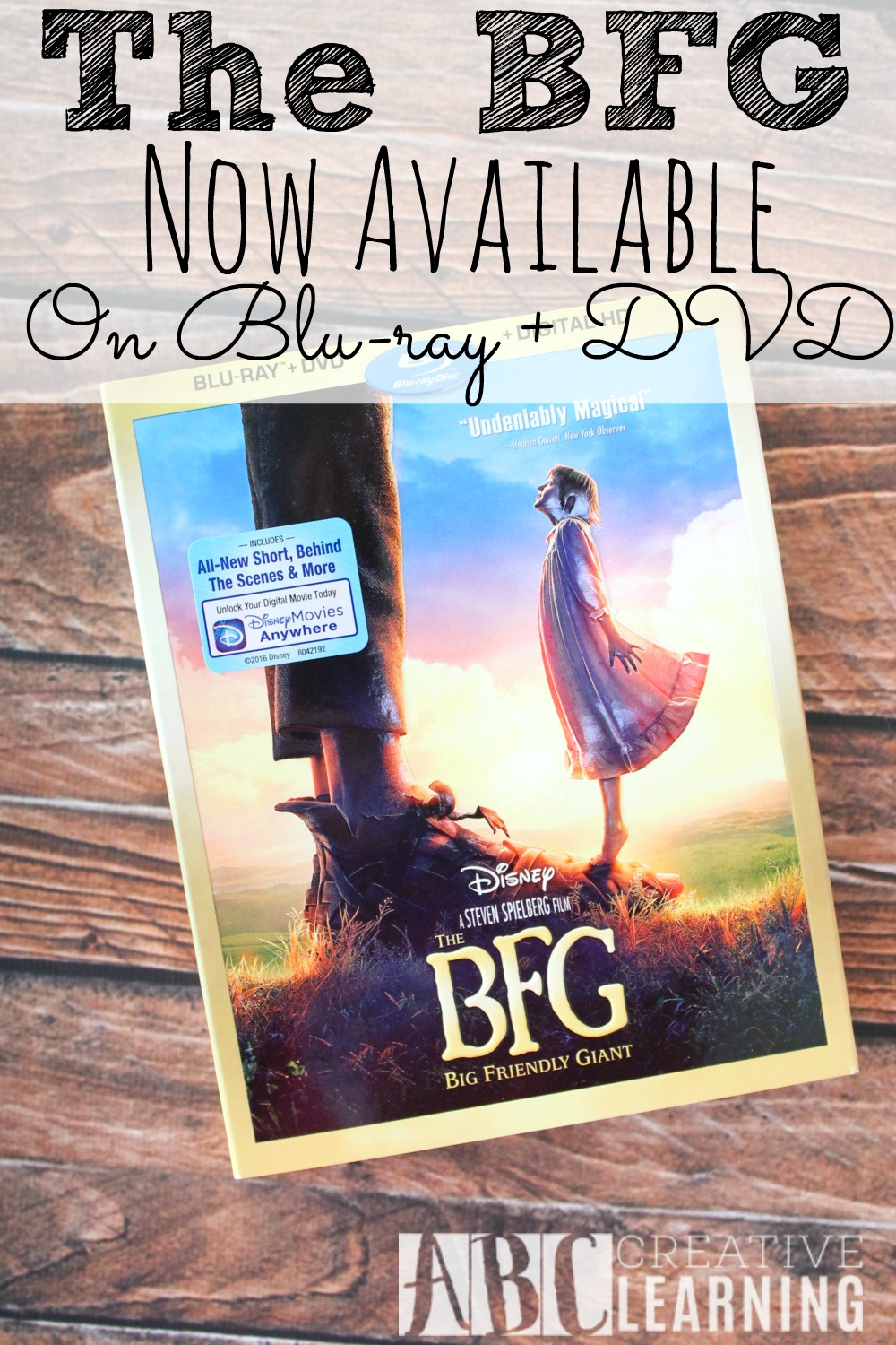 The BFG Now Available On Bluray DVD