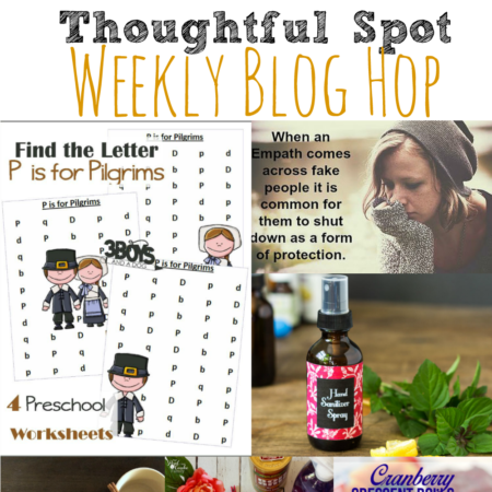 Thoughtful Spot Weekly Blog Hop #161