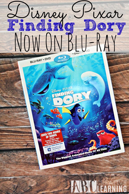 Disney Pixar Finding Dory Now On Bluray