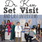Dr. Ken Set Visit and Cast Interviews #ABCTVEvent #DrKen
