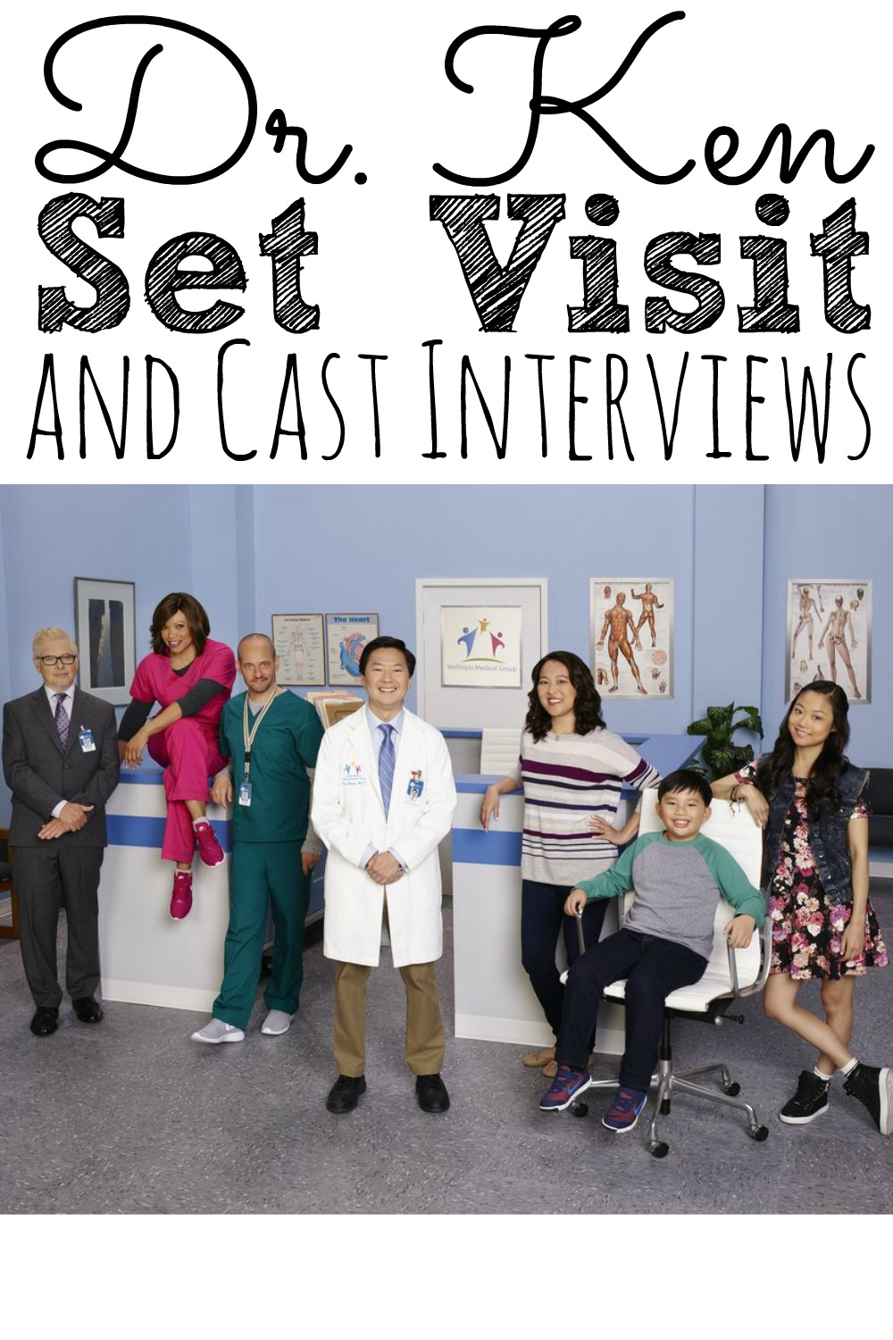 Dr. Ken Set Visit and Cast Interviews