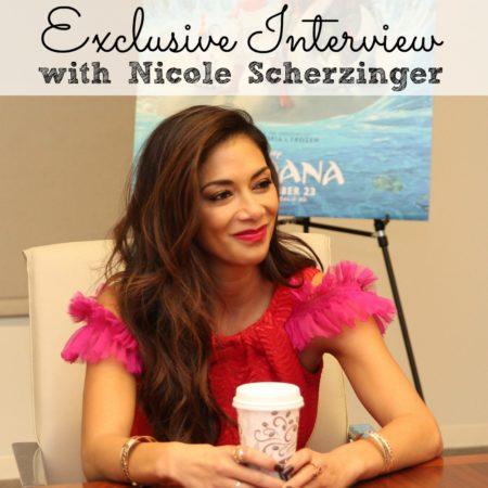 Exclusive Interview Nicole Scherzinger #MoanaEvent