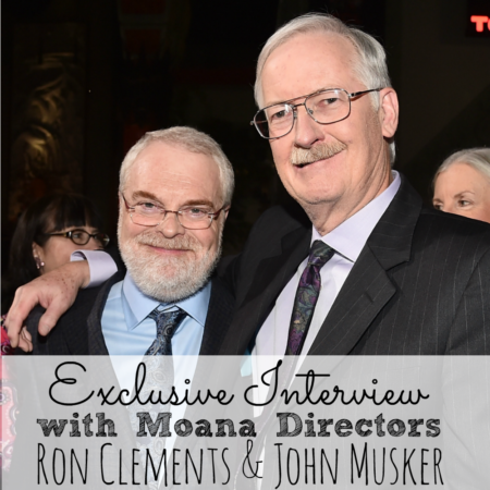 Exclusive Interview With Moana Directors Ron Clements & John Musker