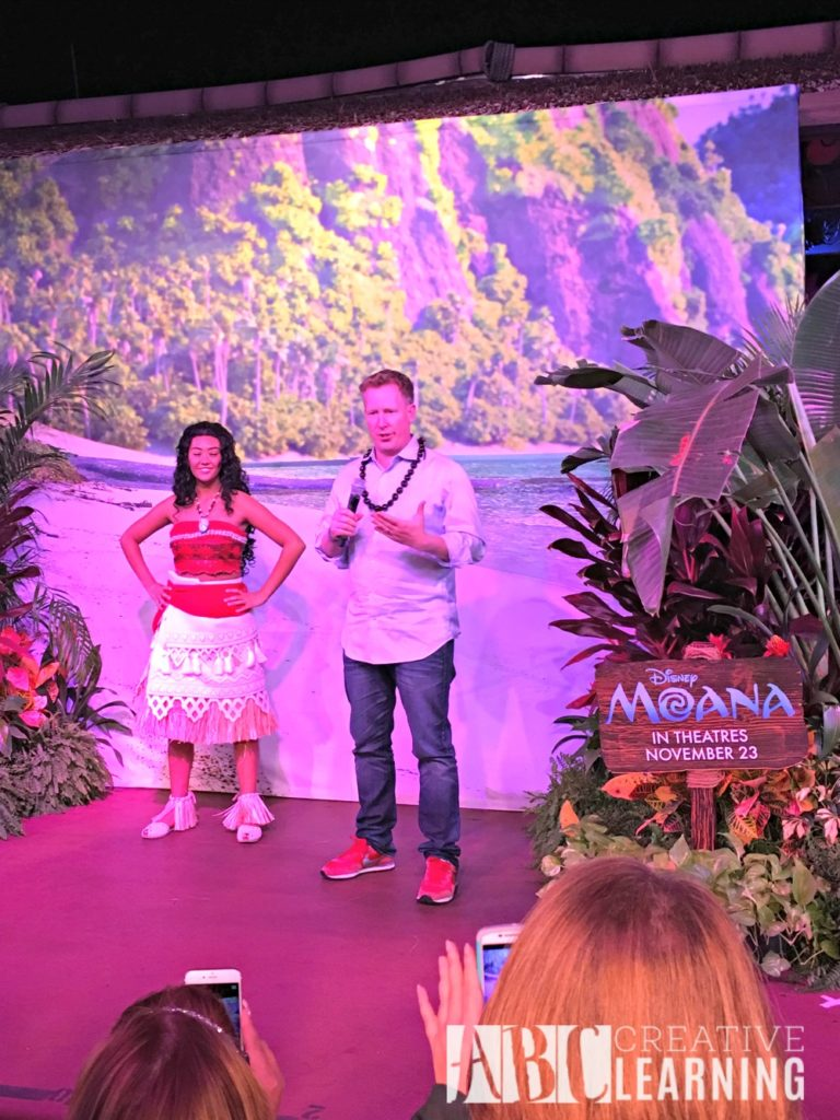 Moana Event and Disney's Polynesian Villas & Bungalows Jared Bush