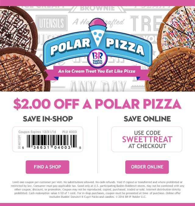 Celebrating the Holidays with Baskin-Robbins Coupon