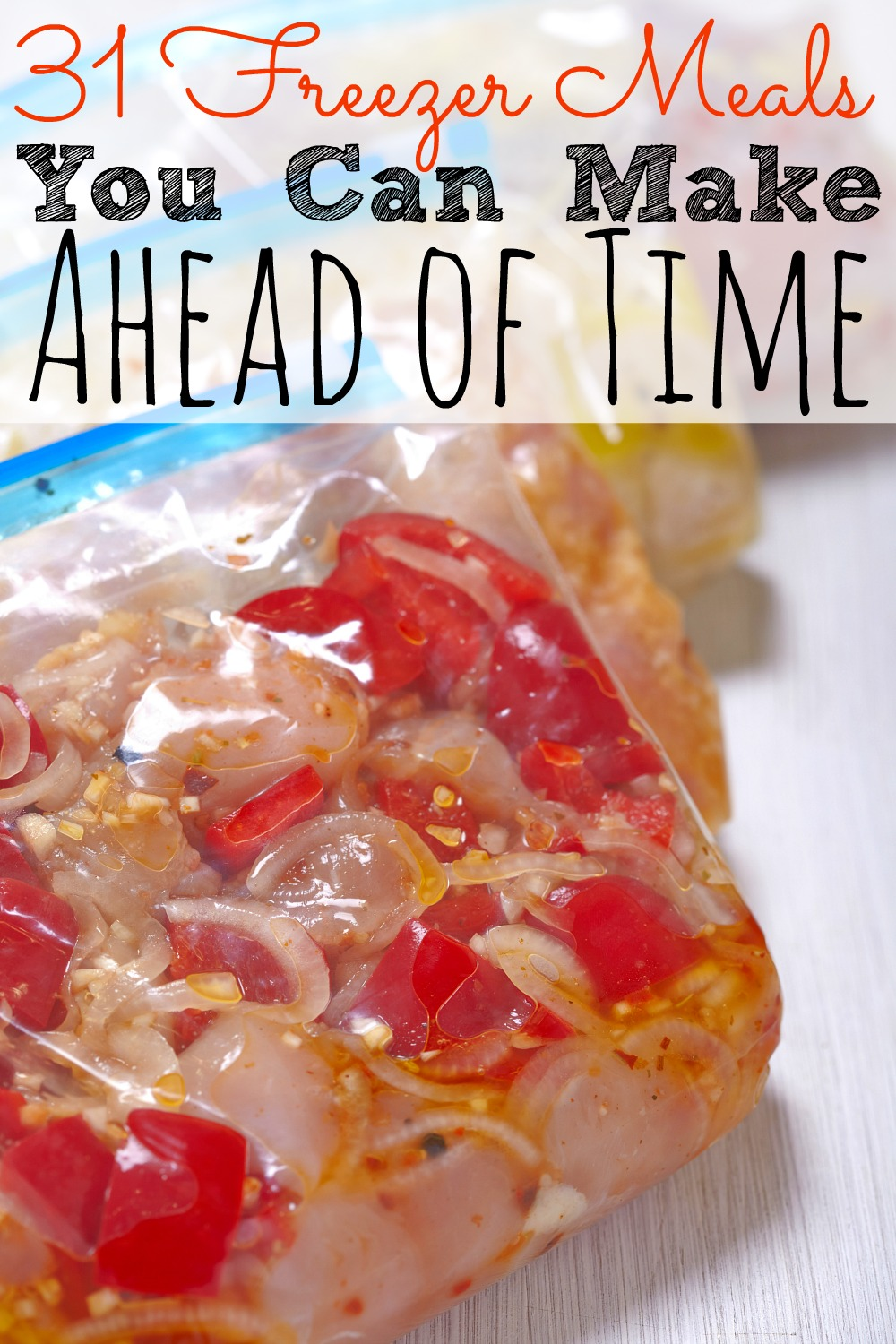 31 Freezer Meals You Can Make Ahead Of Time - abccreativelearning.com