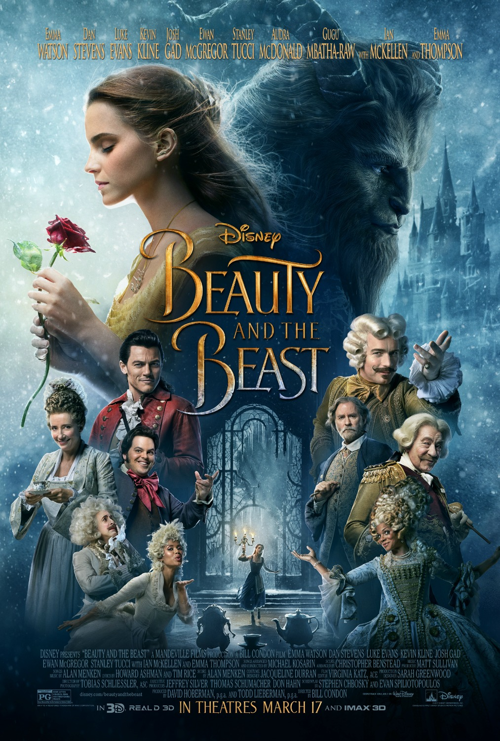 Beauty and the Beast Trailer and Posters
