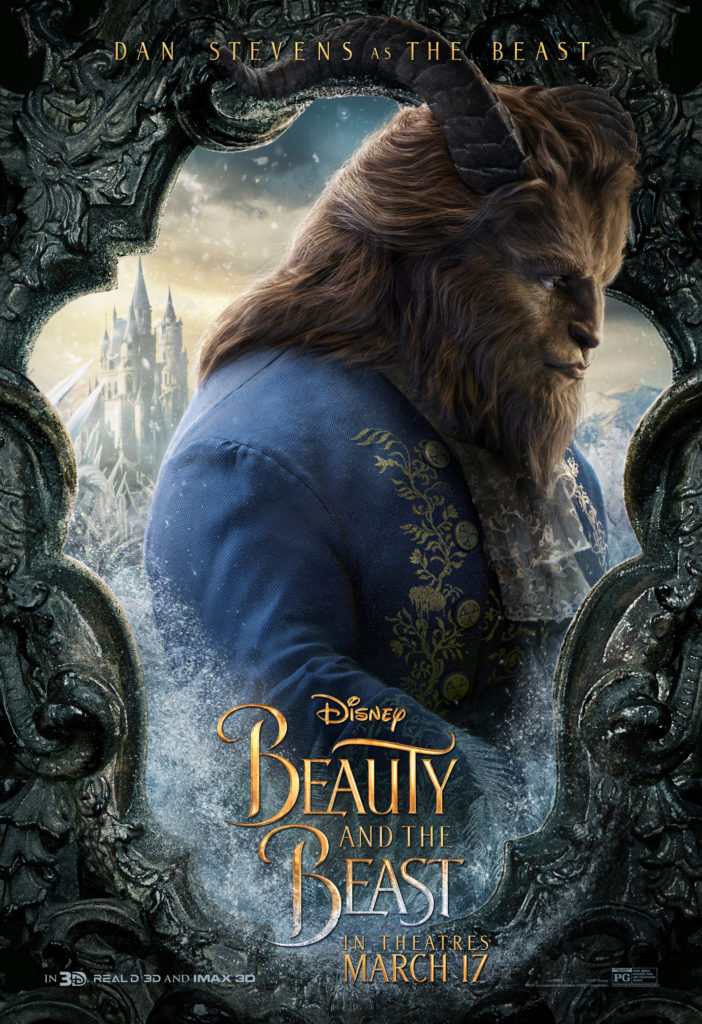 Beauty And The Beast Trailer and Posters #BeautyAndTheBeast