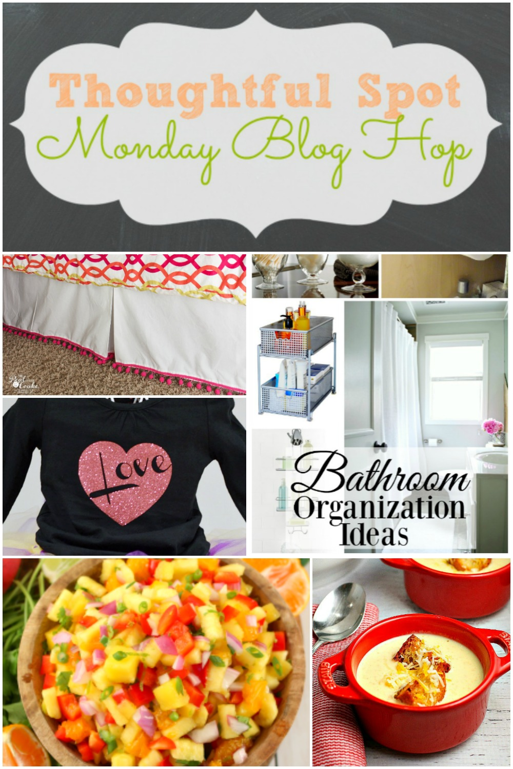 Thoughtful Spot Monday Blog Hop - Join us to find inspiration for your family and home. Sharing recipes, crafts, parenting advice, educational tips, and so much more! - abccreativelearning.com