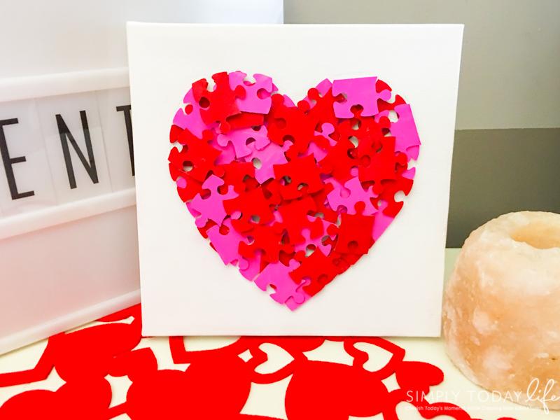 Kids Valentine's Day DIY Card Craft