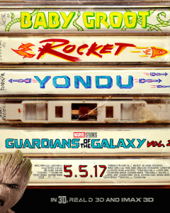 Guardians of the Galaxy Vol. 2 Poster and Extended Look #GOTGVol2