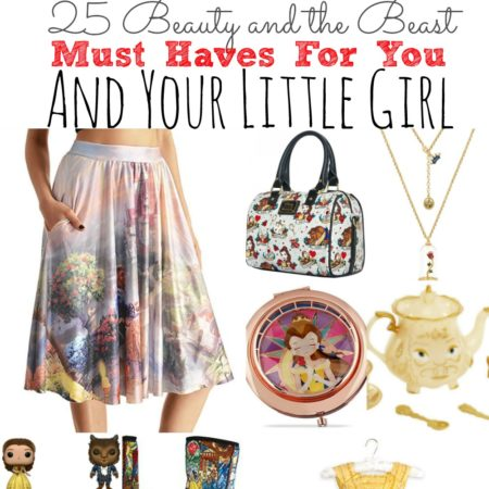 25 Beauty And The Beast Must Haves For You And Your Little Girl