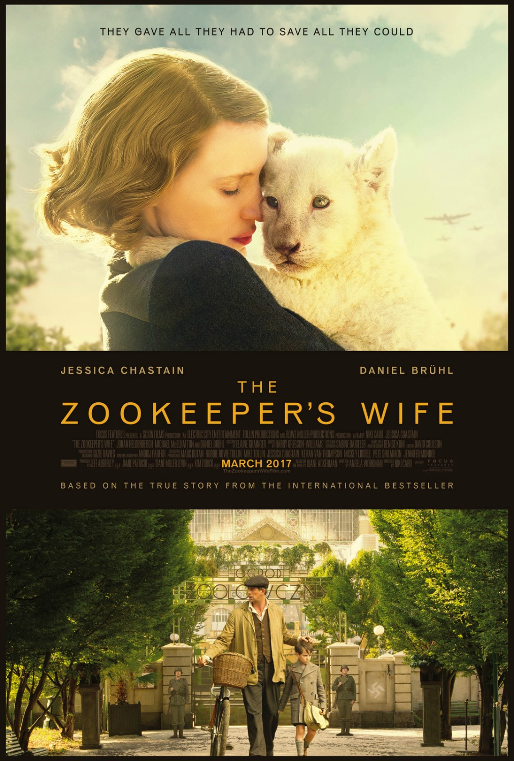 The Zookeeper's Wife New Clips #TheZooKeepersWife - simplytodaylife.com