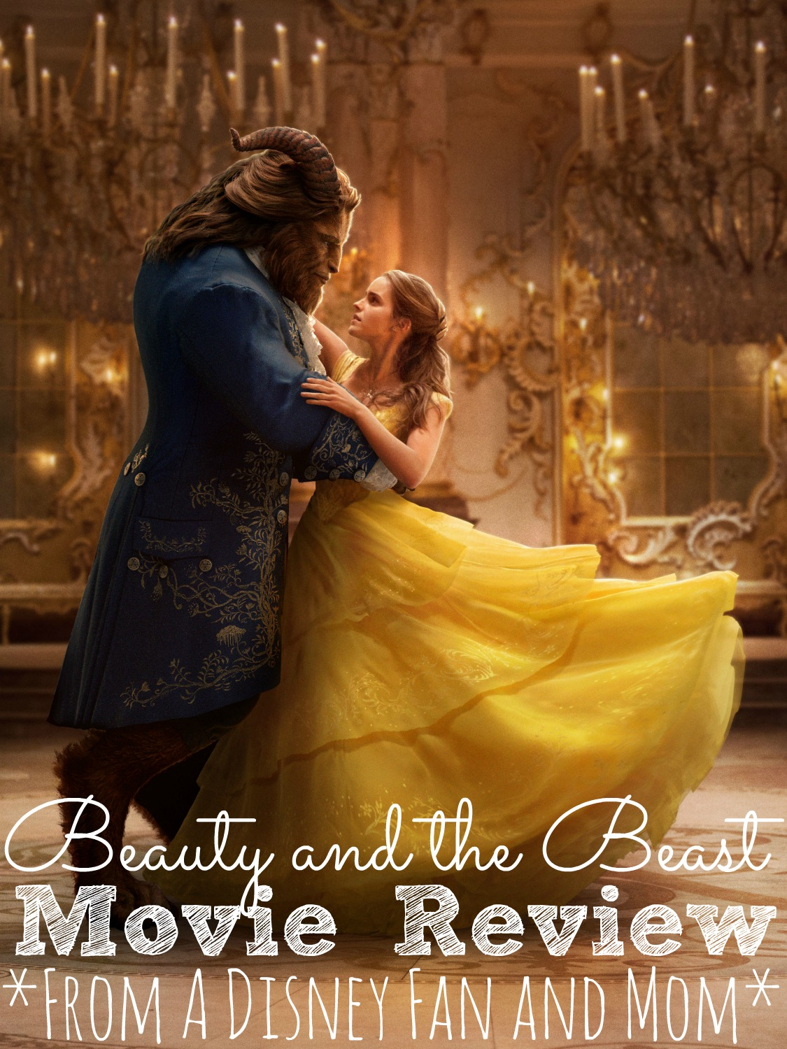 Disney's Beauty and the Beast Movie Review #BeOurGuest - simplytodaylife.com