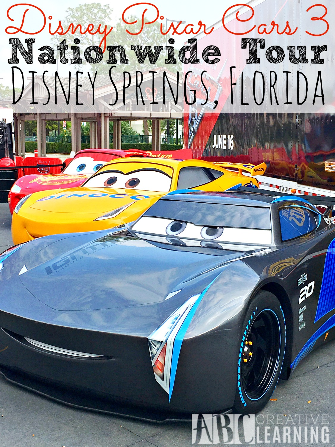Disney Pixar Cars 3 Nationwide Tour