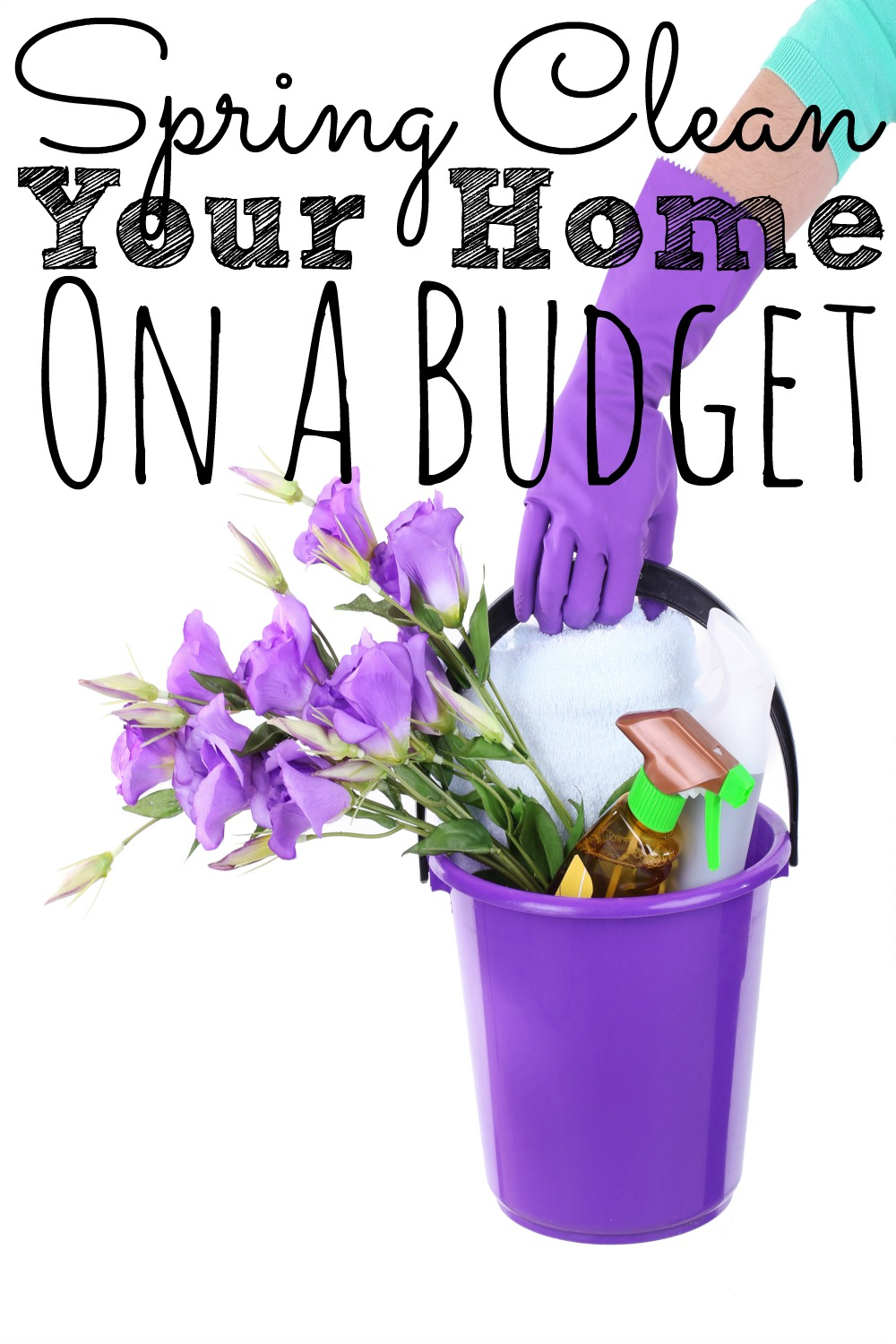 Spring Clean Your Home On A Budget