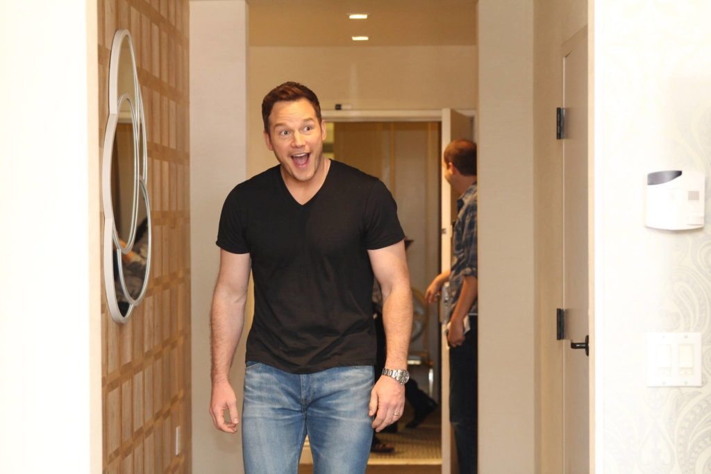 Exclusive Interview with Chris Pratt On Guardians of the Galaxy Vol 2 #GotGVol2Event