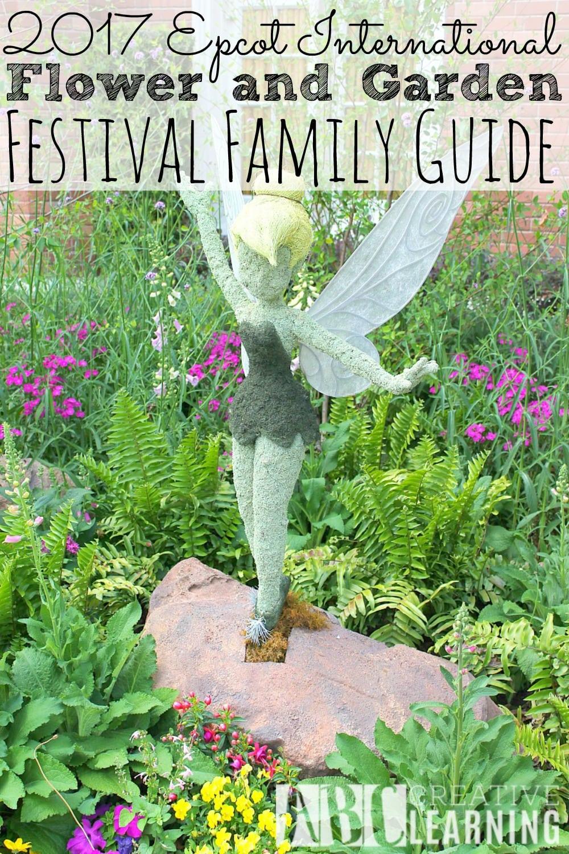 2017 epcot international flower and garden festival guide - Epcot flower and garden festival 2017 ...