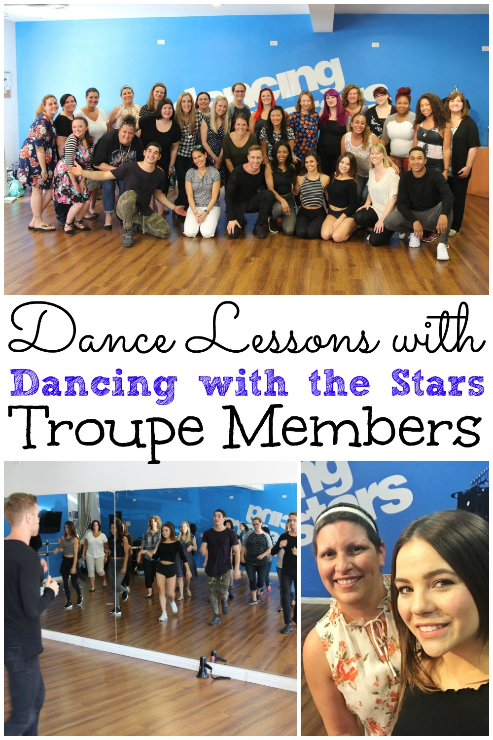 Dance Lessons With Dancing With The Stars Troupe #DWTS #ABCTVEvent