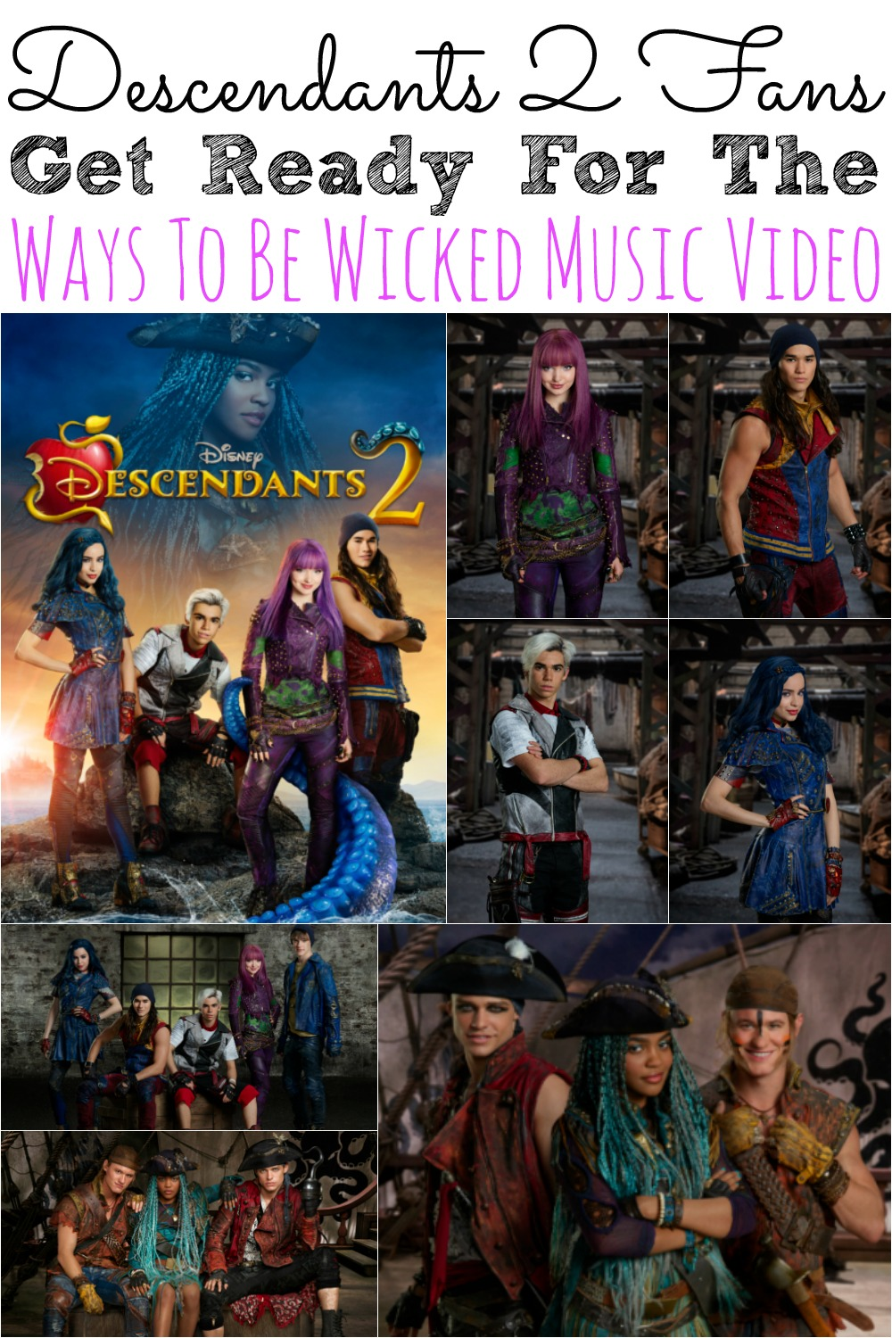 Descendants 2 Fans Get Ready For Ways To Be Wicked Music Video