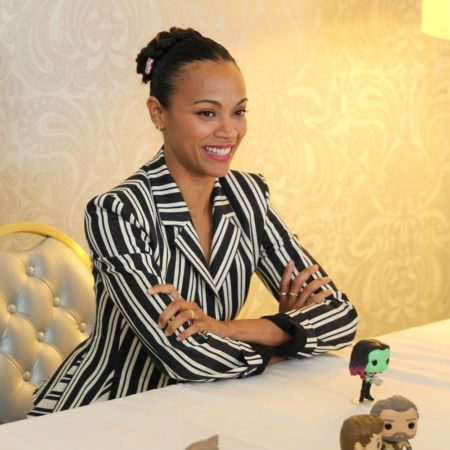 Exclusive Interview with Zoe Saldana On Guardians of the Galaxy Vol 2 #GotGVol2Event