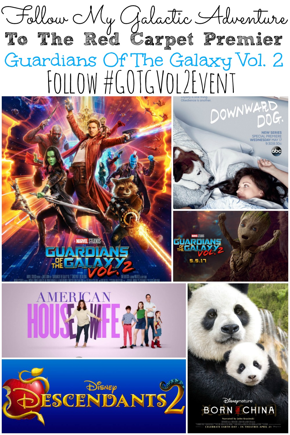 Follow My Galaxtic Adventure For Guardians of the Galaxy Vol 2 Event