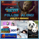 Follow My Galactic Adventure For Guardians Of The Galaxy Vol. 2 Event #GOTGVol2Event