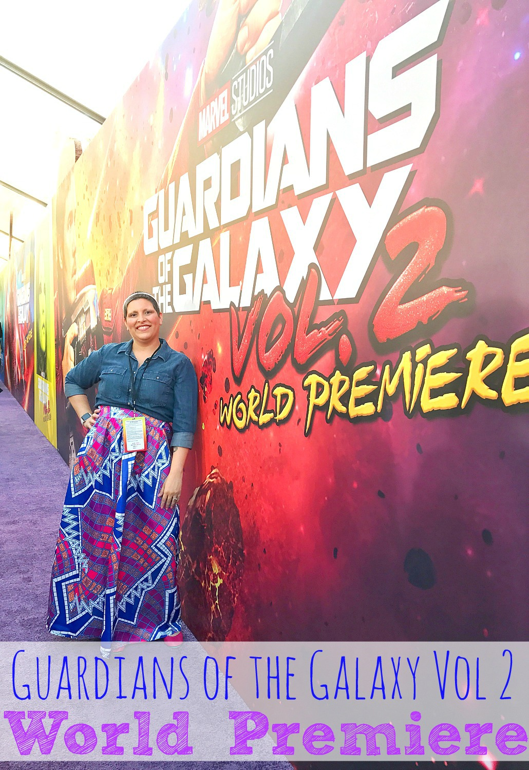 Guardians of the Galaxy Vol 2 World Premiere Experience