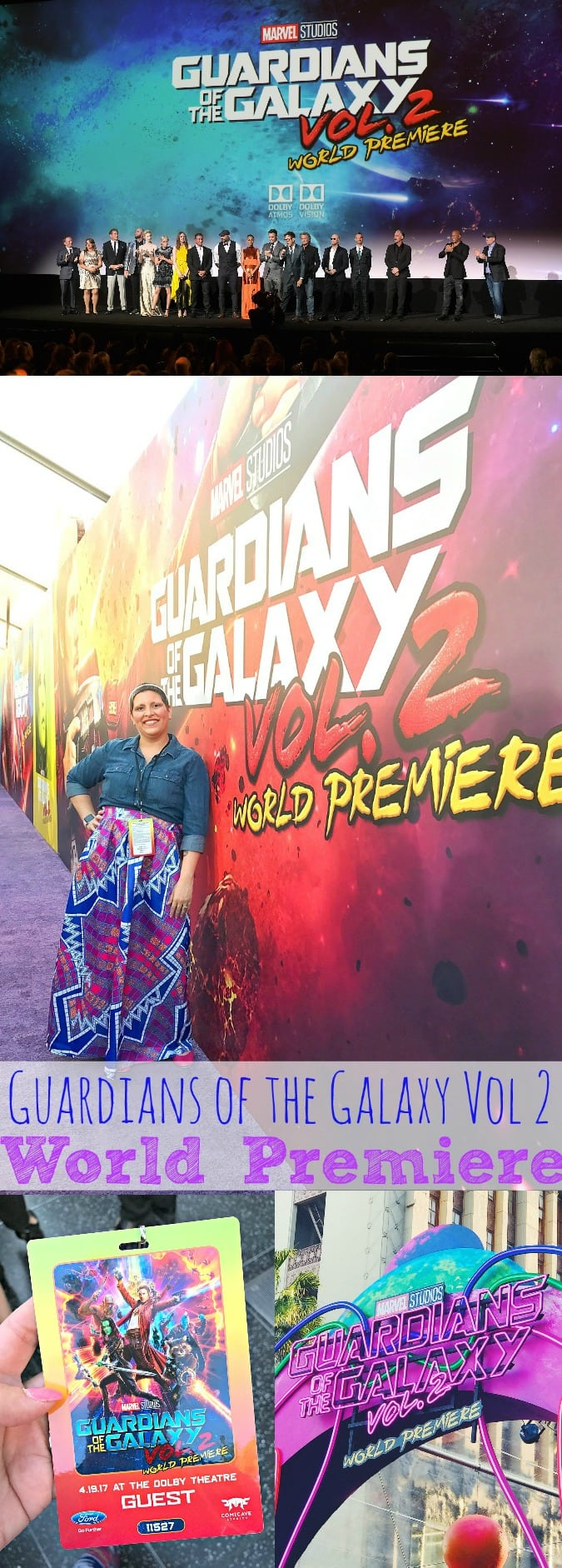 Guardians of the Galaxy Vol 2 Red Carpet Event