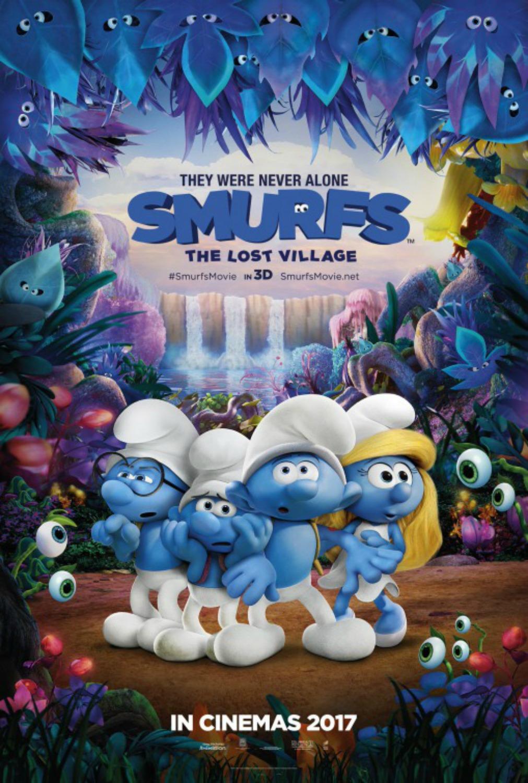 Smurfs: The Lost Village Movie Review #SmurfsMovie - simplytodaylife.com
