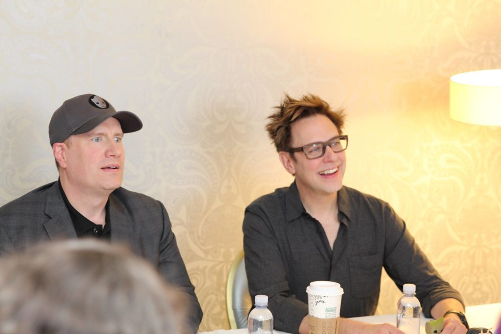 Exclusive Interview with Guardians of the Galaxy Vol 2 Director James Gunn and Marvel President Kevin Feige #GotGVol2Event