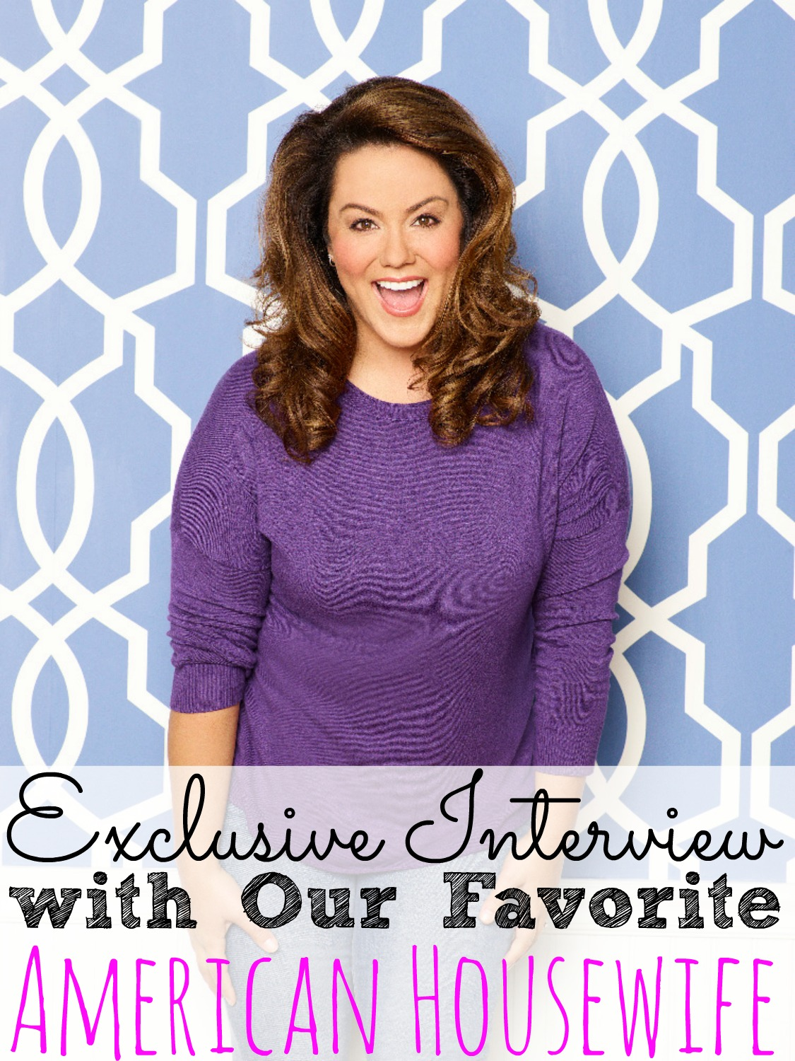 Exclusive Interview With Our Favorite American Housewife #AmericanHousewife #ABCTVEvent