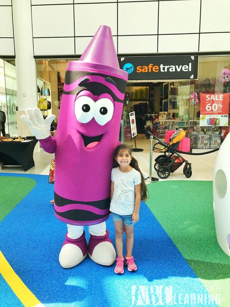 New Interactive Play Park At The Florida Mall | Grand Opening May 20th #PlayPark #ShopFloridaMall Crayola Experience