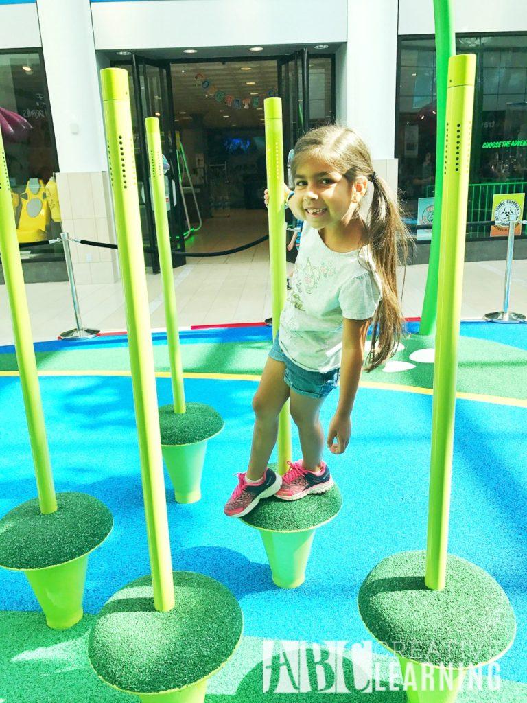 New Interactive Play Park At The Florida Mall | Grand Opening May 20th #PlayPark #ShopFloridaMall Jumping Grass