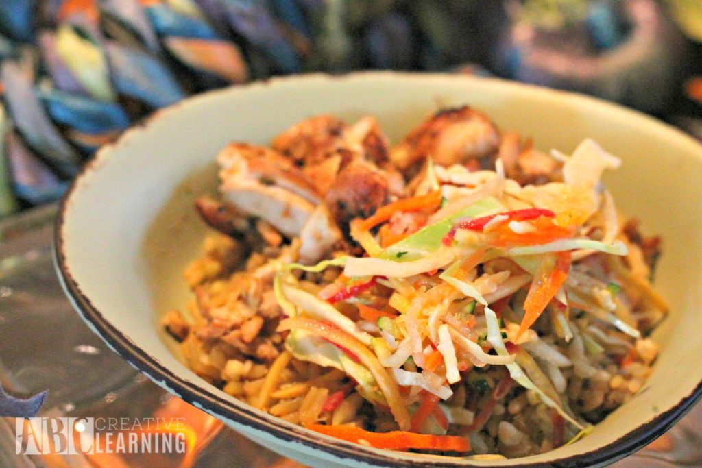 Pandora - World of Avatar at Disney's Animal Kingdom | 5 Things To Experience #VisitPandora Chicken Bowl