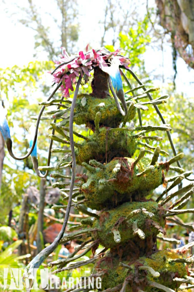 Pandora - World of Avatar at Disney's Animal Kingdom   5 Things To Experience #VisitPandora Na'vi Plant