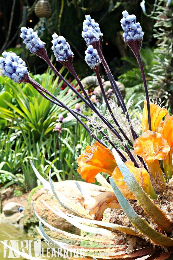 Pandora - World of Avatar at Disney's Animal Kingdom   5 Things To Experience #VisitPandora Flowers