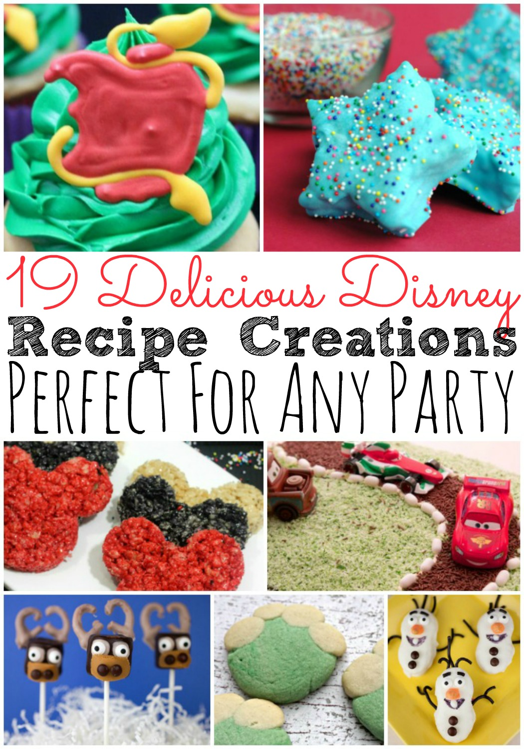 19 Delicious Disney Themed Recipe Creations