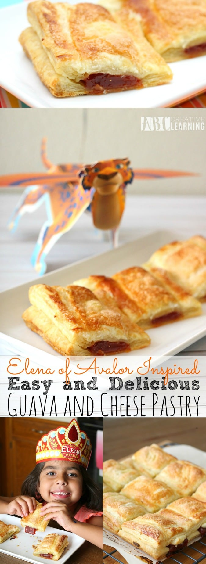 Elena of Avalor Inspired Guava and Cheese Pastry